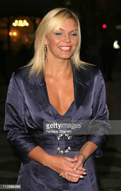 Kate Thornton during ITV's 50th Anniversary Royal Reception Outside Arrivals at Guildhall in London Great Britain