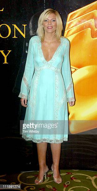Kate Thornton during Royal Television Society Awards Arrivals at Grosvenor House in London Great Britain