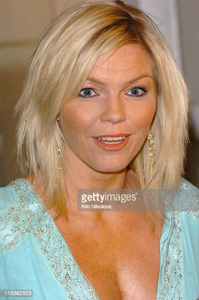 Kate Thornton during RTS Programme Awards 2004 at Grosvenor House Hotel in London Great Britain
