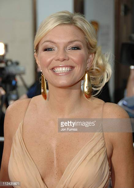 Kate Thornton during The 2006 British Academy Television Awards Arrivals at Grosvenor House in London Great Britain