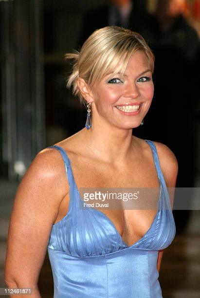 Kate Thornton during The 25th Brit Awards Arrivals at Earls Court 2 in London Great Britain