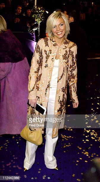 Kate Thornton during The Comedy Awards 2003 at London Television Studios in London United Kingdom