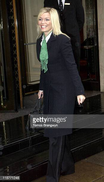 Kate Thornton during TRIC Awards 2006 – Arrivals at Grosvenor House in London Great Britain