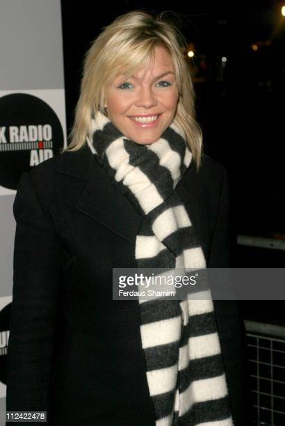 Kate Thornton during UK Radio Aid to Benefit Victims of the Asian Tsunami Outside Arrivals at Capital Radio in London United Kingdom