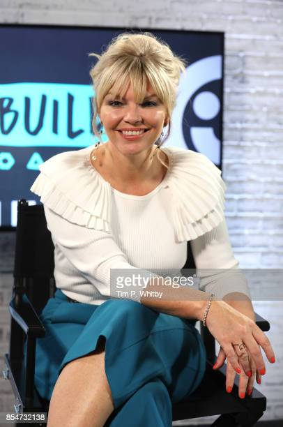 Kate Thornton poses for a photo after discussing the medias role in ageism during a BUILD LND event at AOL on September 27 2017 in London England