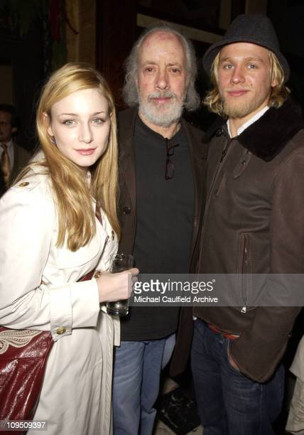 Kate Towne Robert Towne and Charlie Hunnam during Special Screening of 'Nicholas Nickleby' Los Angeles AfterParty at Tanino's in Los Angeles...