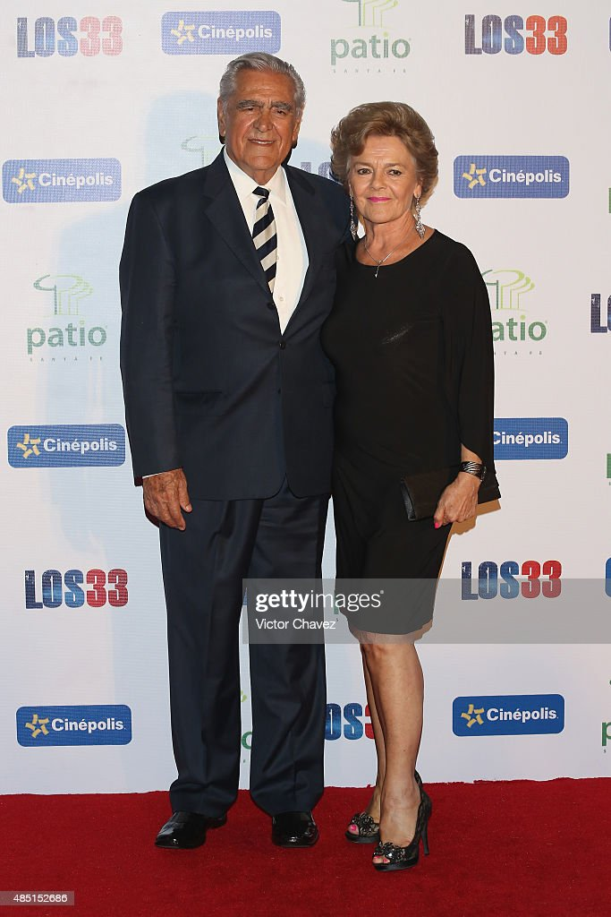 Kate Trillo Graham And Eric Del Castillo Attend Los 33 Mexico City News Photo Getty Images