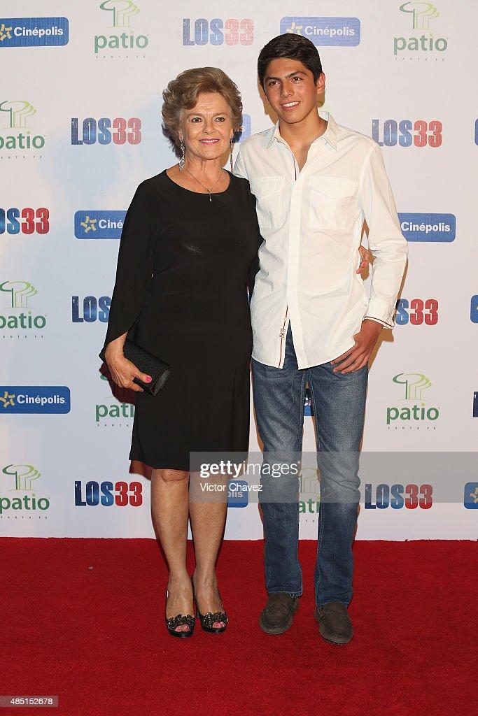 """Los 33"" Mexico City - Red Carpet Premiere : News Photo"