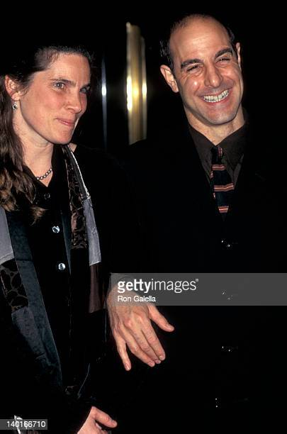Kate Tucci and Stanley Tucci at the New York Film Critics Circle Awards Rainbow Room New York City