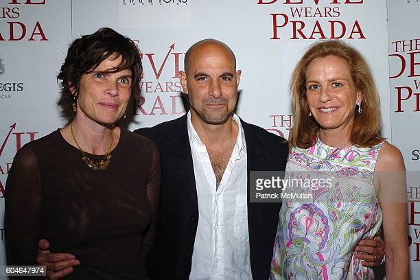 Kate Tucci Stanley Tucci and Wendy Finerman attend Special Screening of 20th Century Fox's The Devil Wears Prada at Southampton Theater on June 24...