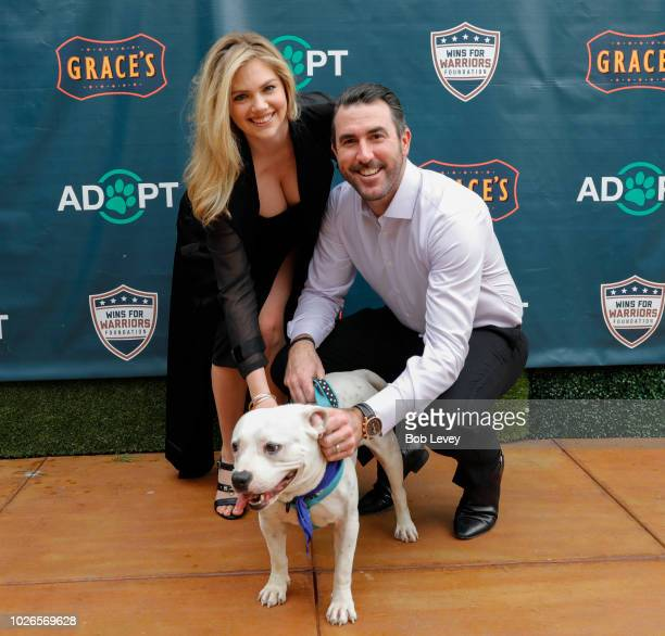Kate Upton and Justin Verlander host reception for Grand Slam Adoption Event and Wins For Warriors Foundation to raise funds for adoptable dogs to...