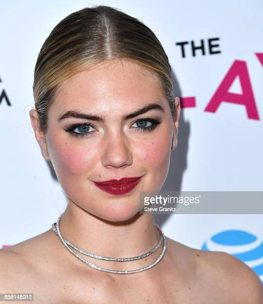 Kate Upton arrives at the Premiere Of DIRECTV And Vertical Entertainment's The Layover at ArcLight Hollywood on August 23 2017 in Hollywood California