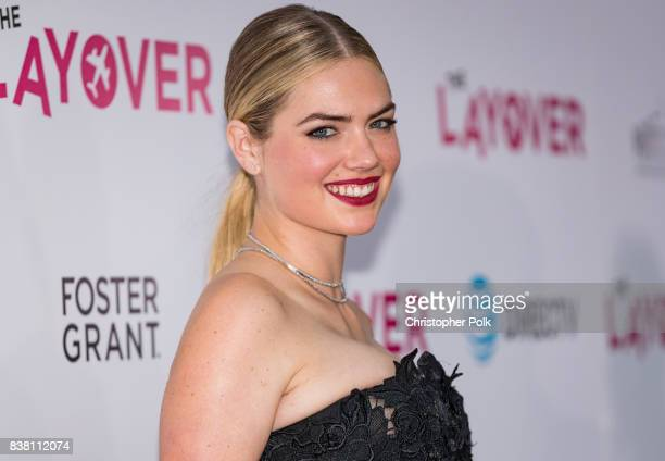 Kate Upton arrives to the Premiere Of DIRECTV And Vertical Entertainment's 'The Layover' at the ArcLight Hollywood on August 23 2017 in Hollywood...