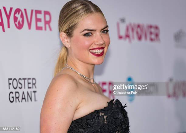 Kate Upton arrives to the Premiere Of DIRECTV And Vertical Entertainment's The Layover at the ArcLight Hollywood on August 23 2017 in Hollywood...
