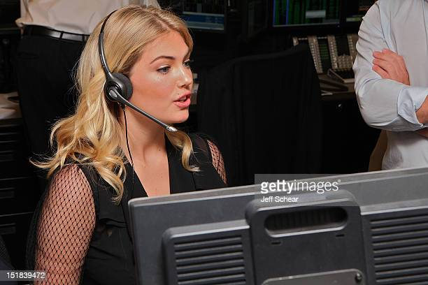 Kate Upton attends Annual Charity Day Hosted By Cantor Fitzgerald And BGC Partners on September 11 2012 in New York United States