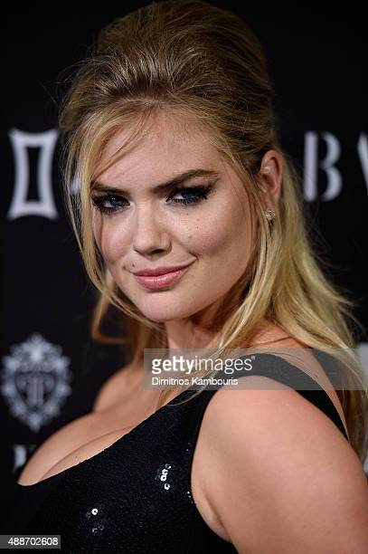 Kate Upton attends the 2015 Harper's BAZAAR ICONS Event at The Plaza Hotel on September 16 2015 in New York City