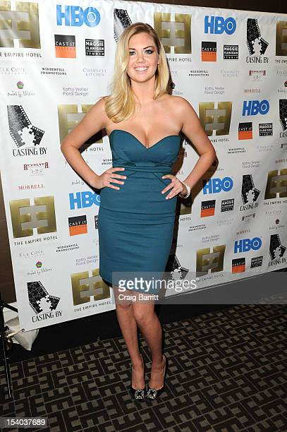 Kate Upton attends the 'Casting By' Premiere After Party During The 50th New York Film Festival at Empire Hotel on October 12 2012 in New York City