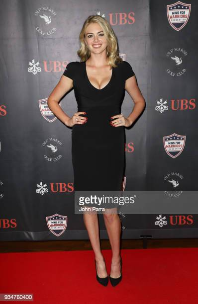 Kate Upton attends the Kate Upton Justin Verlander Uncork For A Cause To Benefit Wins For Warriors Foundation at Old Marsh Golf Club on March 19 2018...
