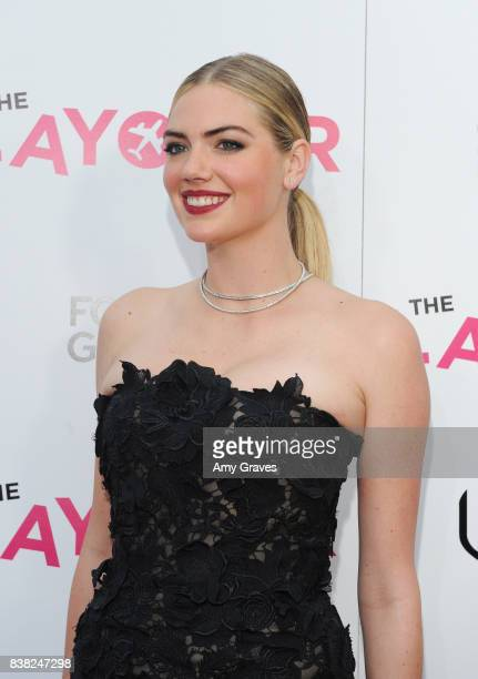 Kate Upton attends The Layover film premiere hosted by Vertical Entertainment DIRECTV Foster Grant and SVEDKA on August 23 2017 in Los Angeles...