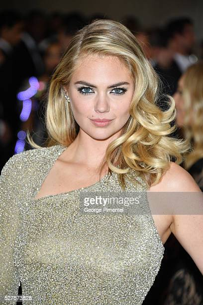 Kate Upton attends the 'Manus x Machina Fashion in an Age of Technology' Costume Institute Gala at the Metropolitan Museum of Art on May 2 2016 in...