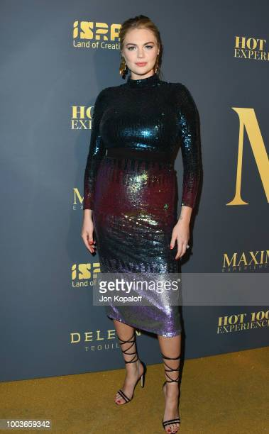 Kate Upton attends The Maxim Hot 100 Experience at Hollywood Palladium on July 21 2018 in Los Angeles California