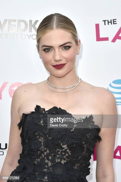 Kate Upton attends the Premiere Of DIRECTV And Vertical Entertainment's The Layover Arrivals at ArcLight Cinemas on August 23 2017 in Hollywood...