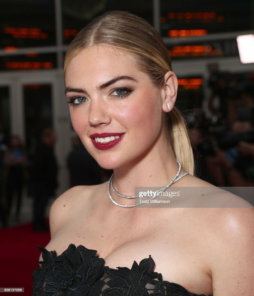 Kate Upton attends the premiere of DIRECTV And Vertical Entertainment's 'The Layover' at ArcLight Hollywood on August 23, 2017 in Hollywood, California.