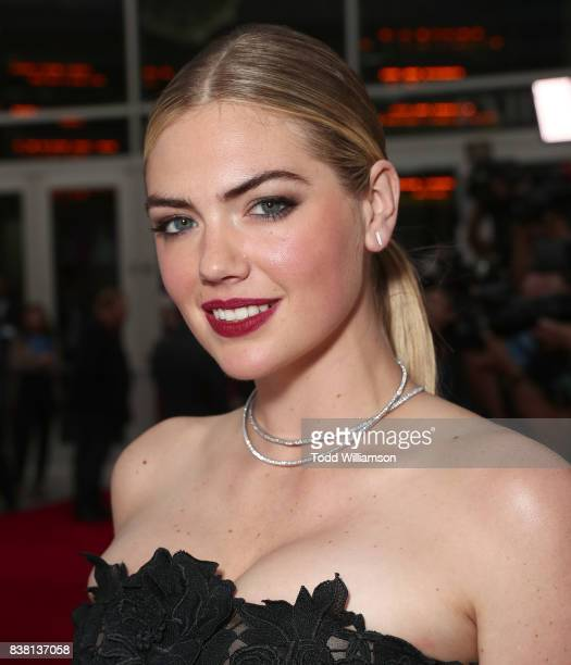 Kate Upton attends the premiere of DIRECTV And Vertical Entertainment's 'The Layover' at ArcLight Hollywood on August 23 2017 in Hollywood California