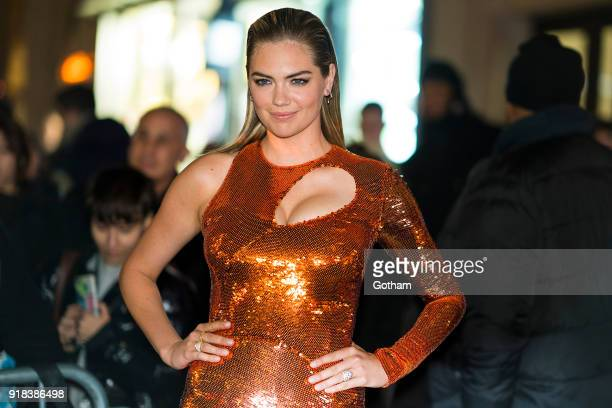 Kate Upton attends the Sports Illustrated Swimsuit 2018 launch event at the Moxie Hotel on February 14 2018 in New York City