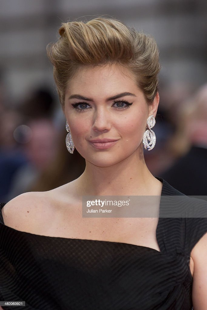 Kate Upton attends the UK Gala premiere of 'The Other Woman' at The Curzon Mayfair on April 2, 2014 in London, England.