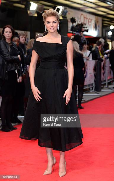 """Kate Upton attends the UK Gala premiere of """"The Other Woman"""" held at The Curzon Mayfair on April 2, 2014 in London, England."""