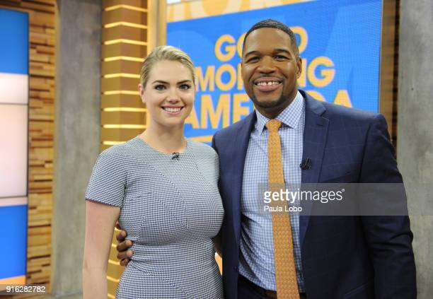 AMERICA Kate Upton is a guest on 'Good Morning America' Friday February 9 airing on the ABC Television Network KATE