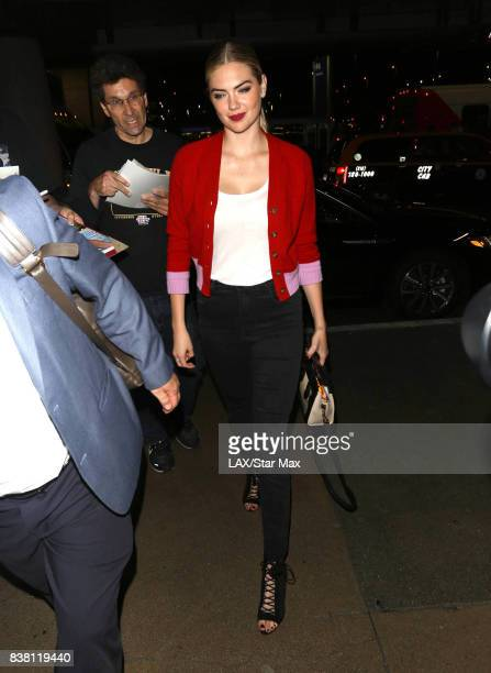 Kate Upton is seen on August 23 2017 in Los Angeles CA