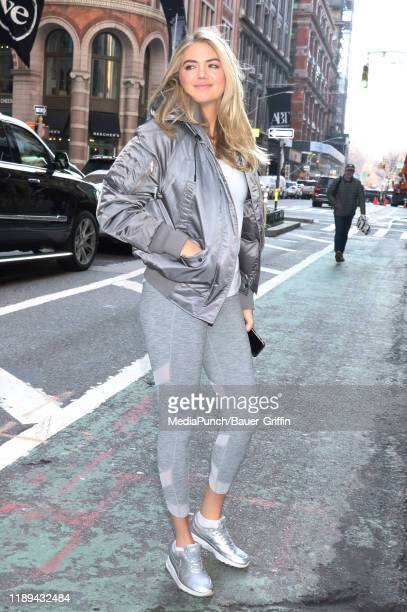 Kate Upton is seen on December 18 2019 in New York City