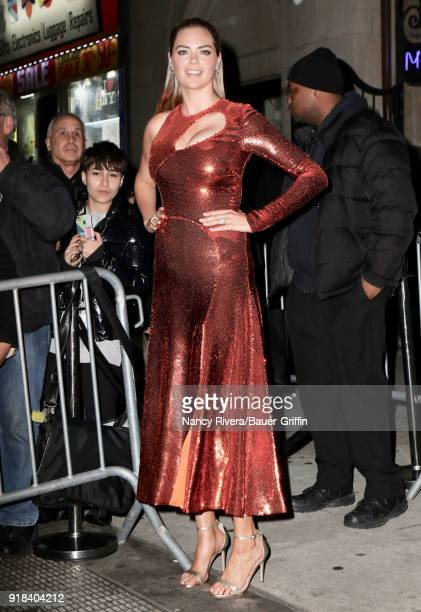 Kate Upton is seen on February 14 2018 in New York City