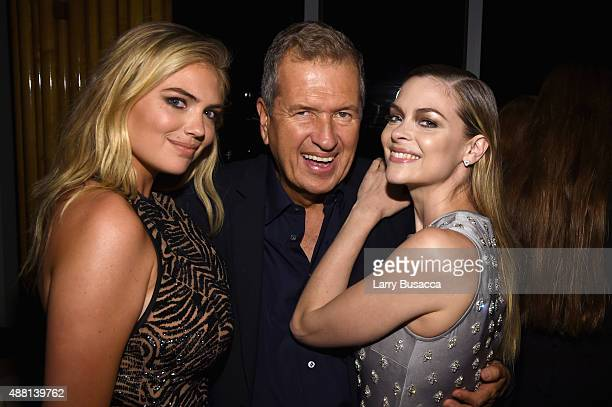 Kate Upton Mario Testino and Jaime King attends the new Gold Collection fragrance launch hosted by Michael Kors featuring Duran Duran at Top of The...