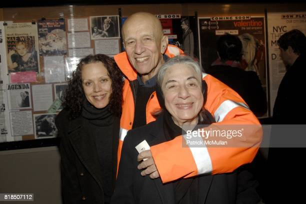 "Kate Valk Alex Katz Ada Katz attend Chiara Clemente's ""Our City Dreams"" Screening Sponsored by Dior Beauty and Deitch Projects at Film Forum on..."