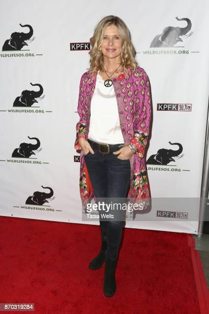 Kate Vernon at Tusk After Dusk Night of 1000 Elephants at Bardot on November 4 2017 in Hollywood California