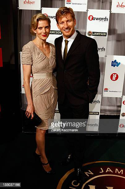 Kate Wagnew and David Wenham at the 2011 Inside Film Awards on November 16 2011 in Sydney Australia