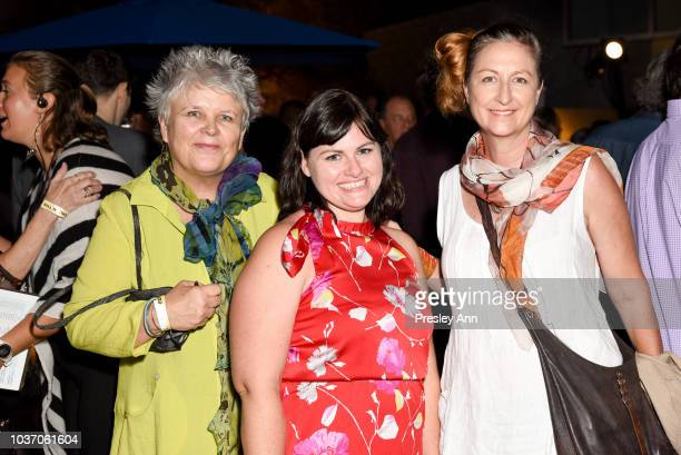 Kate Walker D'Angelo Gloria Campbell Mary Lynn Chambers attend 2018 LA Film Festival Opening Night Premiere Of 'Echo In The Canyon' PreReception at...