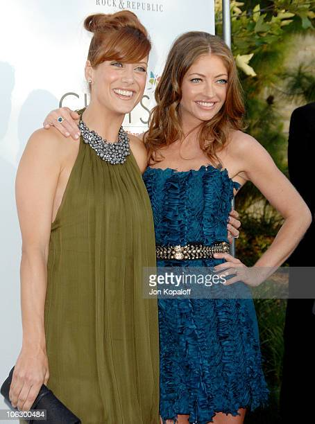 Kate Walsh and Rebecca Gayheart during Sixth Annual Chrysalis Butterfly Ball Arrivals at Home of Susan Harris Hayward Kaiser in Mandeville Canyon...