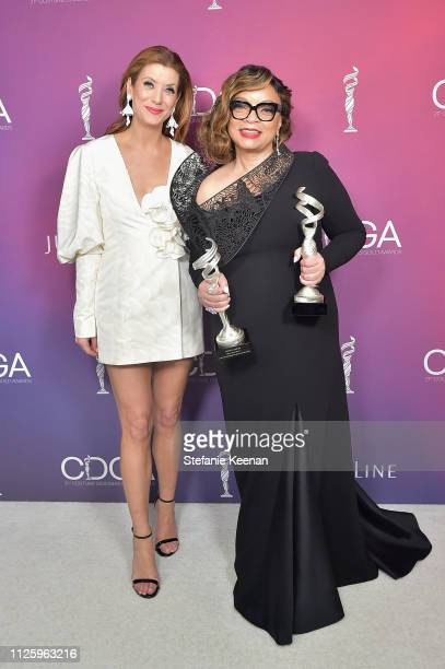 Kate Walsh and Ruth E Carter recipient of the Excellence in SciFi / Fantasy Film award for 'Black Panther' and the Career Achievement Award attend...