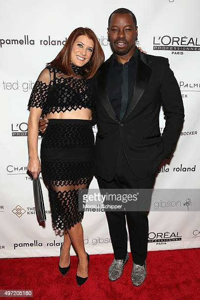 Kate Walsh and Ted Gibson attend Ted Gibson's 50th Birthday Party on November 14 2015 in New York City