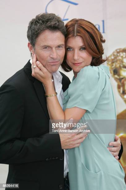 Kate Walsh and Tim Daly pose during the 49th Monte Carlo Television Festival at the Grimaldi Forum on June 10 2009 in MonteCarlo Monaco
