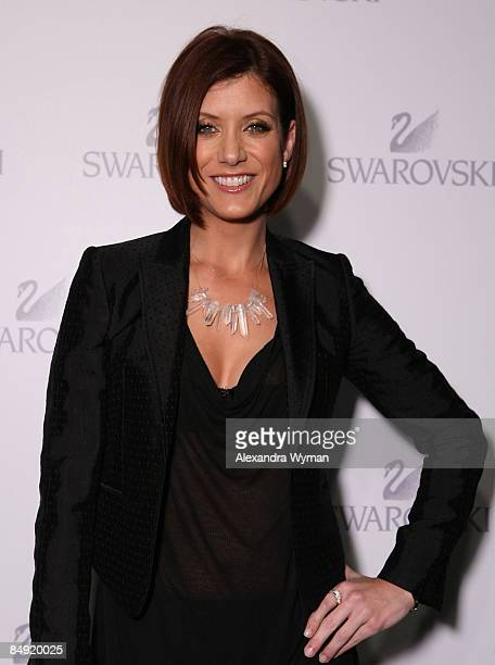 Kate Walsh arrives at SWAROVSKI PreOscar celebration of exhibition held at The Thompson Hotel on February 18 2009 in Beverly Hills California