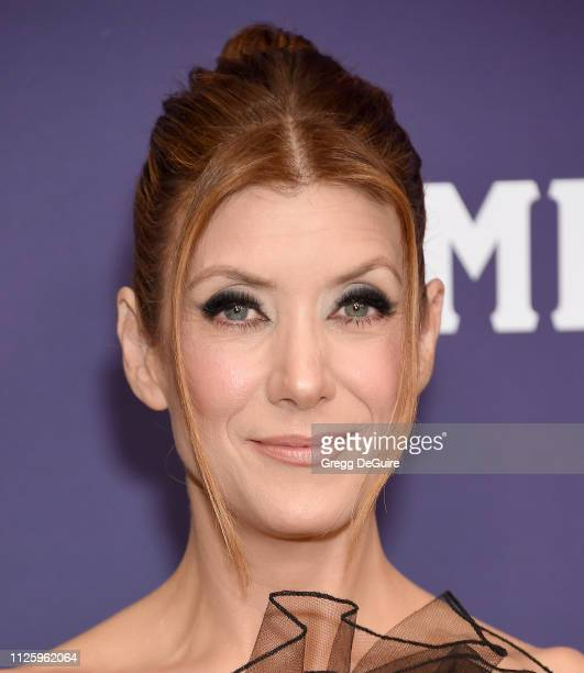 Kate Walsh arrives at the 21st CDGA at The Beverly Hilton Hotel on February 19 2019 in Beverly Hills California