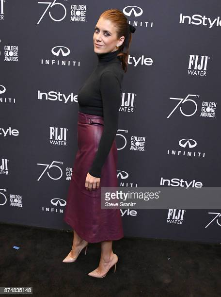 Kate Walsh arrives at the Hollywood Foreign Press Association And InStyle Celebrate The 75th Anniversary Of The Golden Globe Awards at Catch LA on...