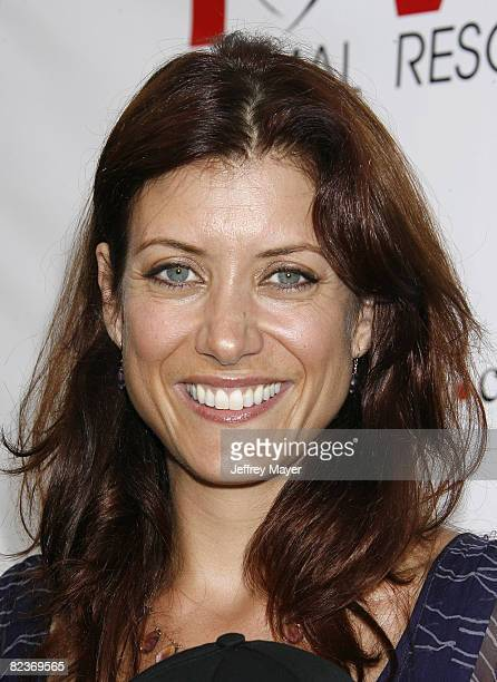 Kate Walsh arrives at the Much Love Animal Rescue Presents The Second Annual Bow Wow WOW at The Playboy Mansion on July 19 2008 in Beverly Hills...