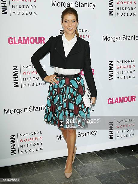 Kate Walsh arrives at the National Women's History Museum's 3rd Annual Women Making History event held at Skirball Cultural Center on August 23 2014...