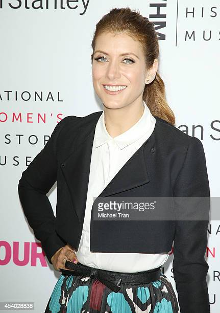 Kate Walsh arrives at the National Women's History Museum's 3rd Annual Women Making History event held at Skirball Cultural Center on August 23, 2014...